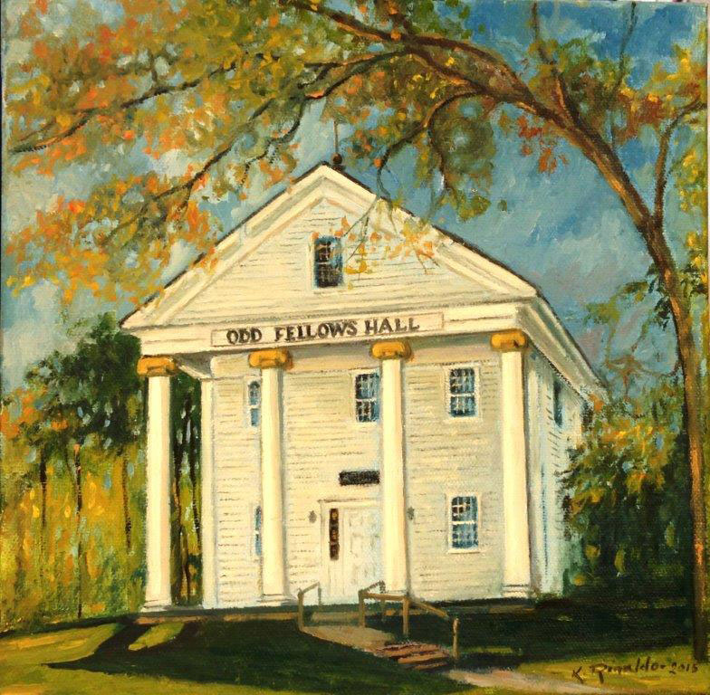 Historic Old Fellows Hall, Falmouth, MA