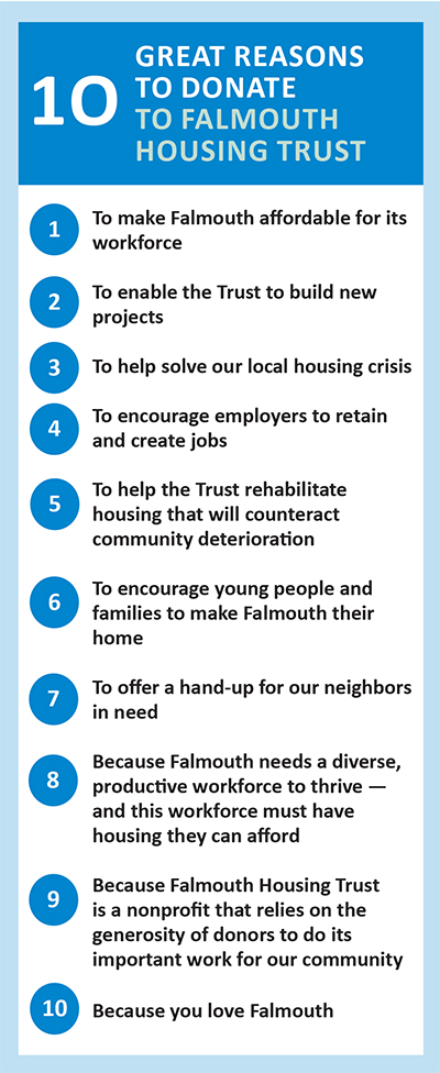 10 reasons to donate to the FHT