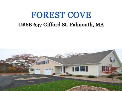 AFFORDABLE HOMEOWNERSHIP Forest Cove Falmouth