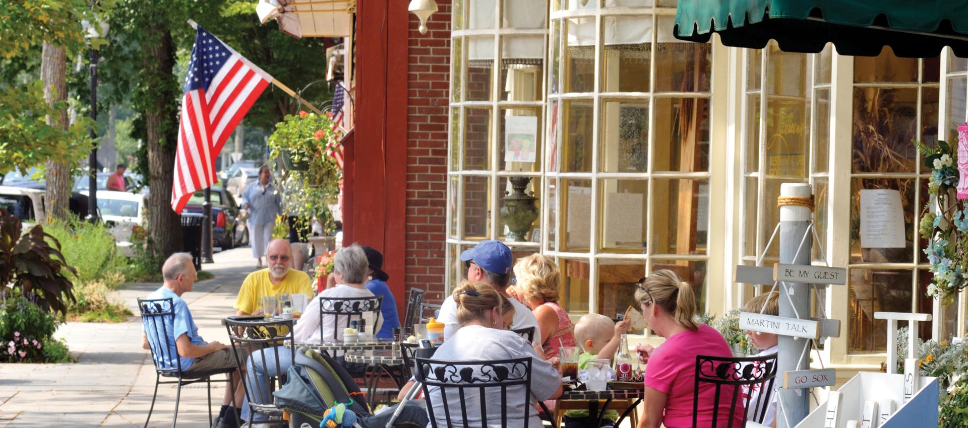 Main Street Falmouth MA